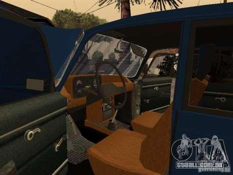 Moskvich 412-4 x 4 para GTA San Andreas vista superior