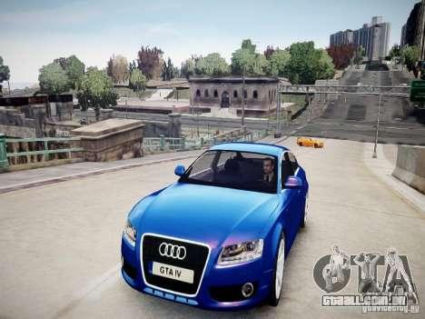 Audi A5 Sportback para GTA 4 vista direita