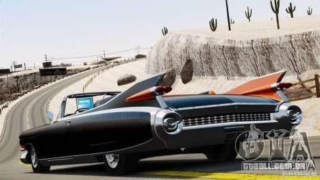 Cadillac Eldorado III Biarritz para GTA 4 esquerda vista