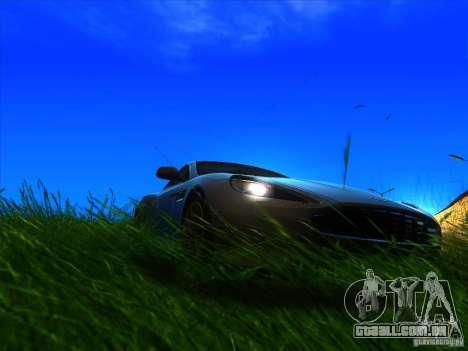 Aston Martin Virage 2011 Final para GTA San Andreas vista direita