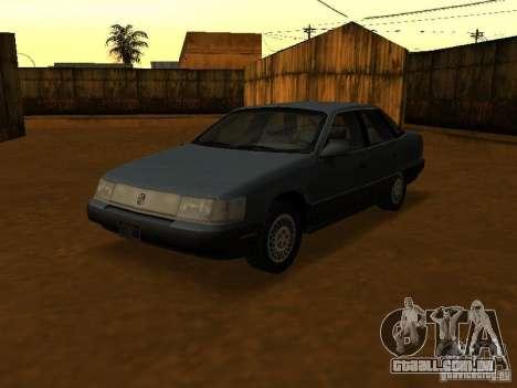 Mercury Sable GS 1989 para GTA San Andreas