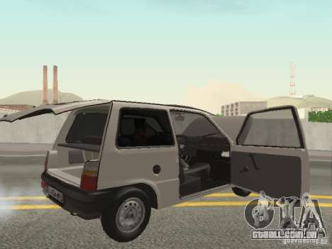 Proteína de Oka VAZ 1111 para GTA San Andreas vista traseira