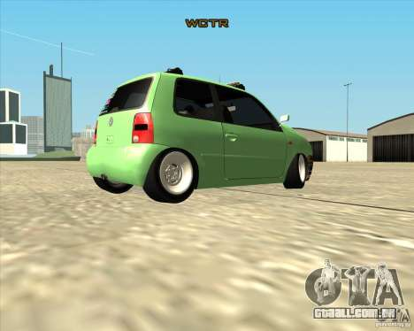 Volkswagen Lupo Hellaflush para GTA San Andreas vista direita