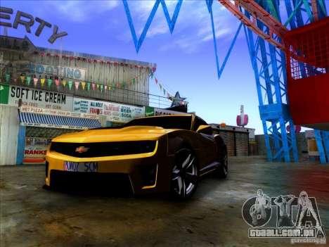 Realistic Graphics HD 2.0 para GTA San Andreas segunda tela