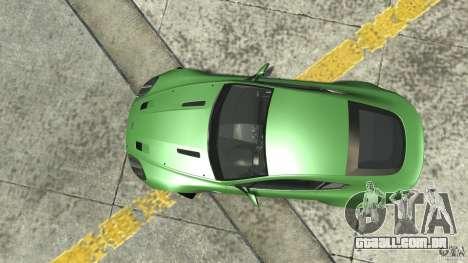 Aston Martin V8 Vantage N400 para GTA 4 vista direita