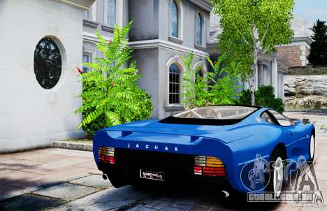 Jaguar XJ 220 para GTA 4 traseira esquerda vista