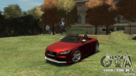 Audi TT RS Roadster para GTA 4