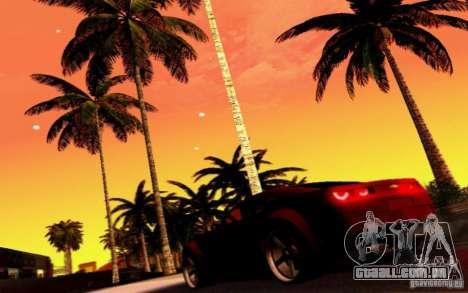 Chevrolet Camaro Tuning para GTA San Andreas vista superior