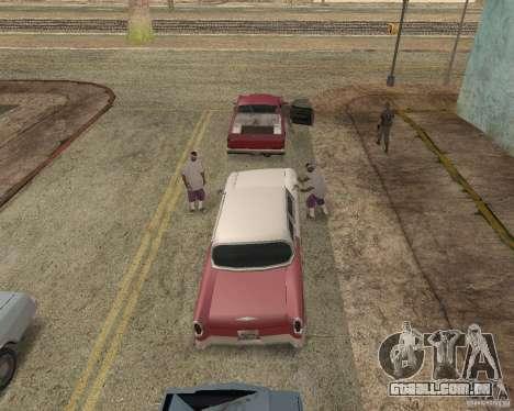 More Hostile Gangs 1.0 para GTA San Andreas segunda tela
