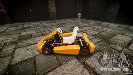 Karting para GTA 4 vista de volta