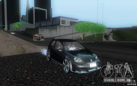 VolksWagen Golf GTI W12 TT Black Revel para GTA San Andreas