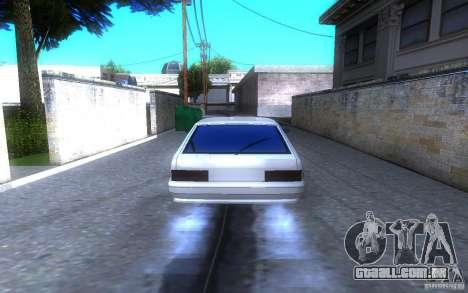 ВАЗ 2114 LT para GTA San Andreas traseira esquerda vista