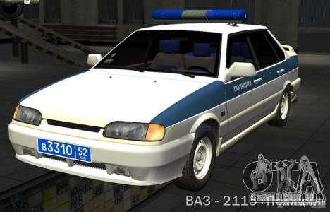 Polícia PPP VAZ 2115 para GTA San Andreas
