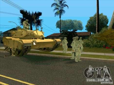 Camuflagem eletrônica Morpeh para GTA San Andreas terceira tela