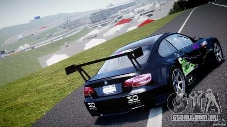 BMW M3 GT2 Drift Style para GTA 4 traseira esquerda vista