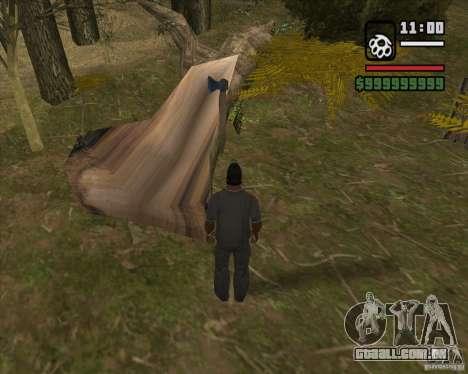 Caçador de casa v. 3.0 Final para GTA San Andreas por diante tela