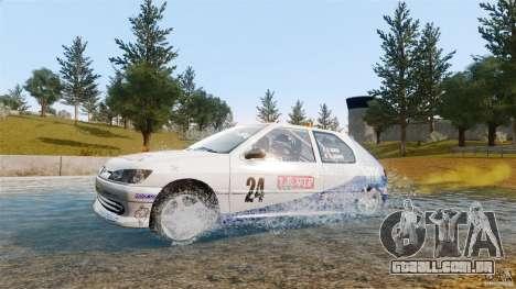 Peugeot 306 Gr. N Rally para GTA 4 vista direita