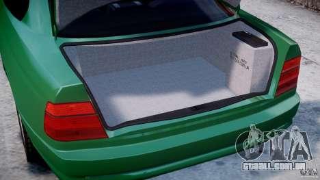 BMW 850i E31 1989-1994 para GTA 4 vista lateral