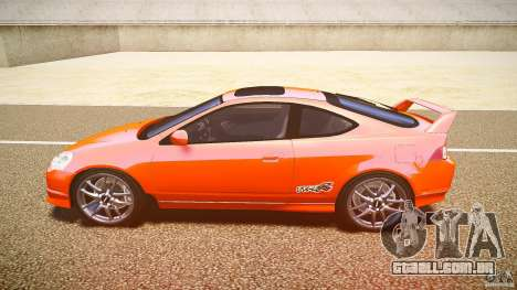 Acura RSX TypeS v1.0 stock para GTA 4 esquerda vista