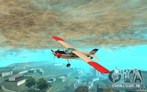 Maule Orion para GTA San Andreas esquerda vista