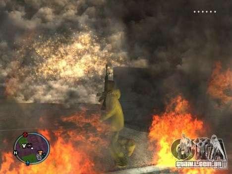 Project Reality mod beta 2.4 para GTA San Andreas segunda tela