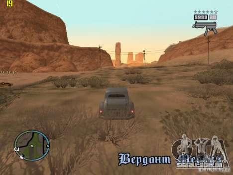 GTA IV  San andreas BETA para GTA San Andreas sétima tela