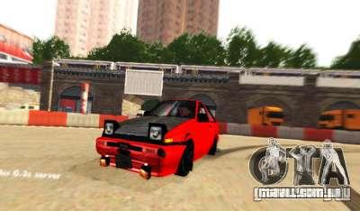 Drift de Londres para GTA San Andreas terceira tela