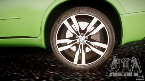 BMW X5 M-Power para GTA 4 vista inferior