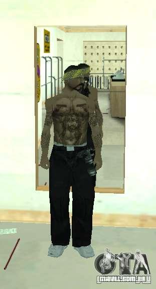 Vagos Gang Skins para GTA San Andreas por diante tela