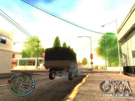 UAZ 330364 para GTA San Andreas esquerda vista