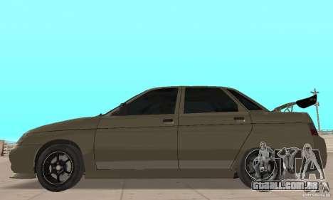 LADA 21103 v. 1.1 para GTA San Andreas traseira esquerda vista