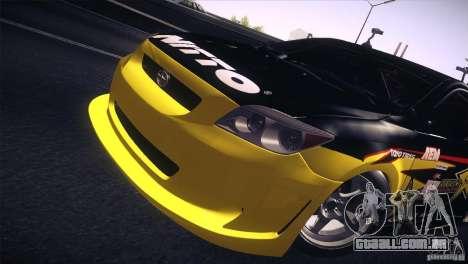 Scion TC Rockstar Team Drift para GTA San Andreas