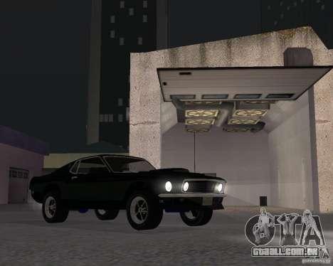 Ford Mustang Boss 1969 para GTA San Andreas
