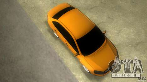 Lada Granta para GTA Vice City vista direita