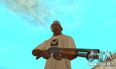 M870 para GTA San Andreas terceira tela