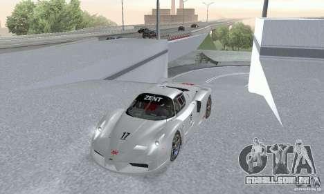 Ferrari FXX para GTA San Andreas vista direita