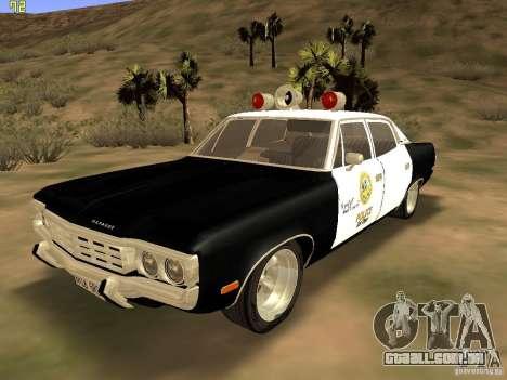 AMC Matador SA Police 1971 Final para GTA San Andreas