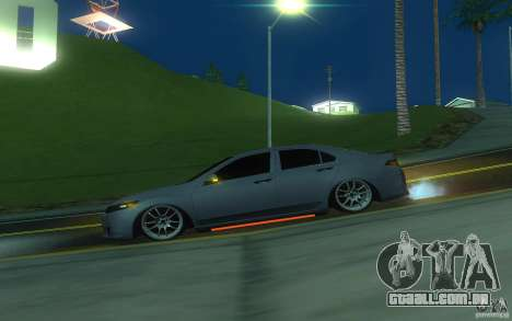 Honda Accord para GTA San Andreas esquerda vista