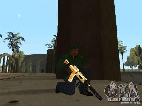 Armas de ouro de Pak para GTA San Andreas
