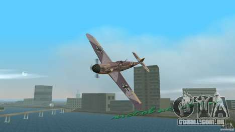 WW2 War Bomber para GTA Vice City