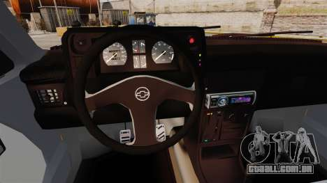 Opel Kadett GL 1.8 1996 para GTA 4 vista interior
