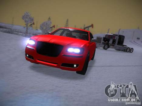 Chrysler 300C SRT8 2011 para GTA San Andreas vista traseira