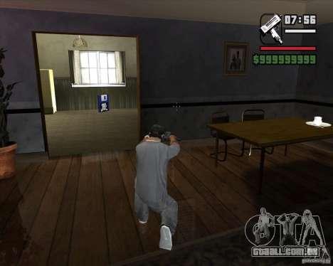 Micro UZI para GTA San Andreas terceira tela