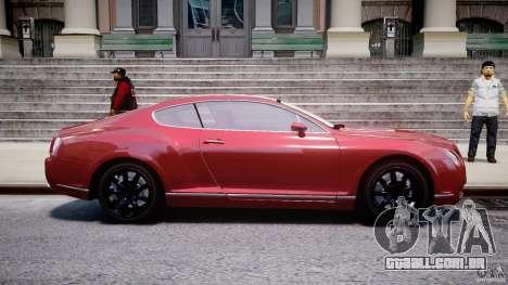 Bentley Continental GT 2004 para GTA 4 vista interior