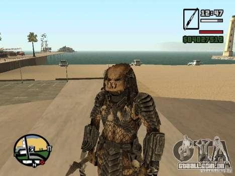 Predador Predator para GTA San Andreas terceira tela