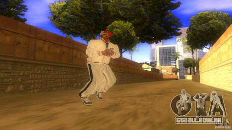 BrakeDance mod para GTA San Andreas sexta tela