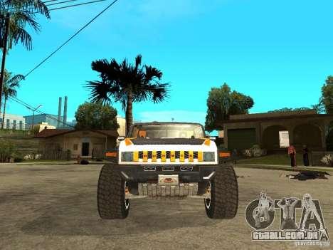 Hummer HX Concept from DiRT 2 para GTA San Andreas vista direita