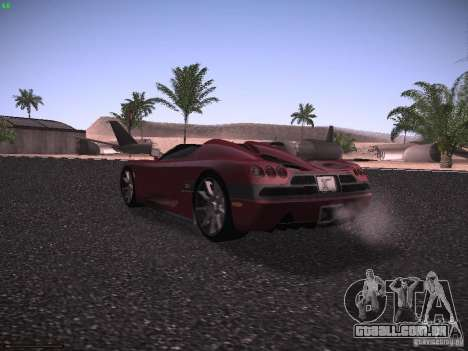 Koenigsegg CCX 2006 para GTA San Andreas vista direita