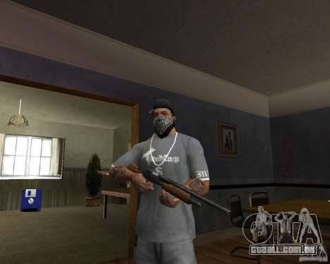 ShotGun para GTA San Andreas