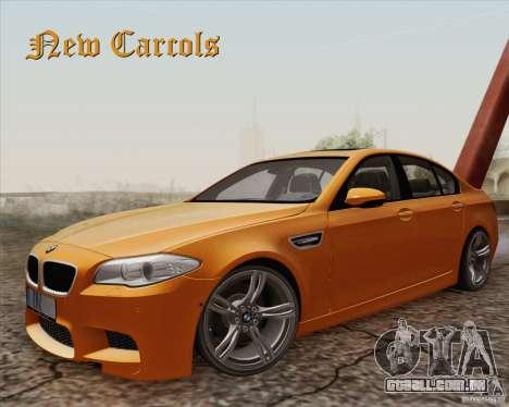 New Carcols para GTA San Andreas
